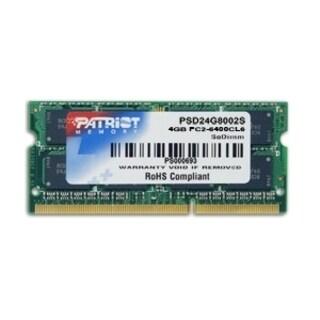 Patriot Signature DDR2 4GB CL5 PC2-6400 (800MHz) SODIMM