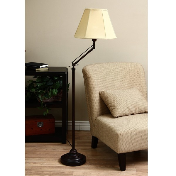 ClearLite Aspen Full Spectrum Bronze Adjustable Floor Lamp