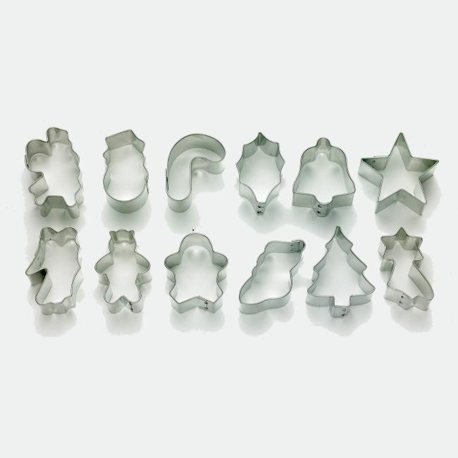 Mrs. Anderson Holiday Cookie Cutter 12-piece Set