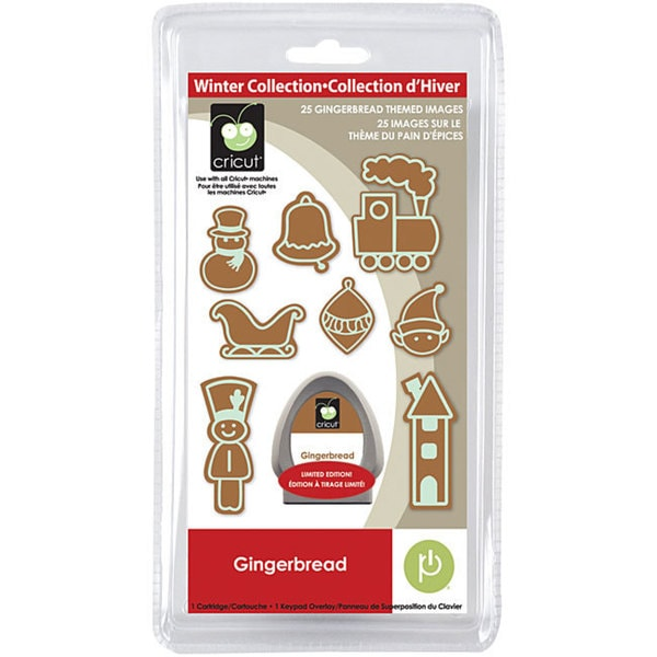 Cricut Seasonal Gingerbread House Cartridge