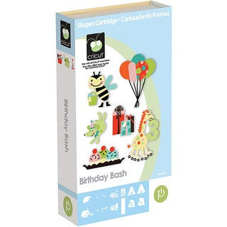 Cricut Birthday Bash Cartridge