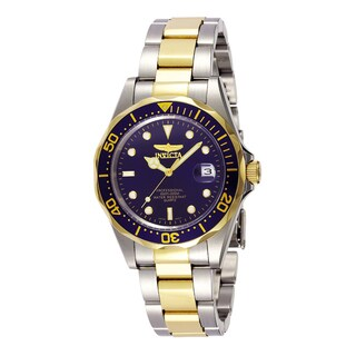 Invicta Men'S Blue Dial Two-Tone Watch https://ak1.ostkcdn.com/images/products/5492253/P13277234.jpg?_ostk_perf_=percv&impolicy=medium