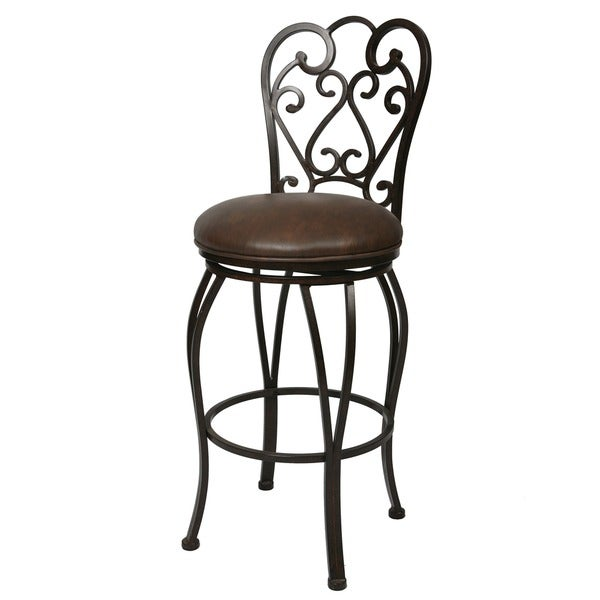 Shop Magnolia 26 Inch Swivel Counter Stool Free Shipping