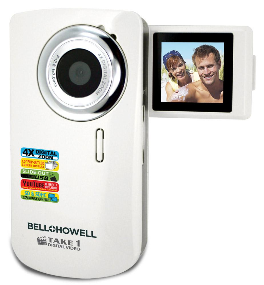 Bell + Howell Take 1 Video Camera with Flip Screen - Thumbnail 0
