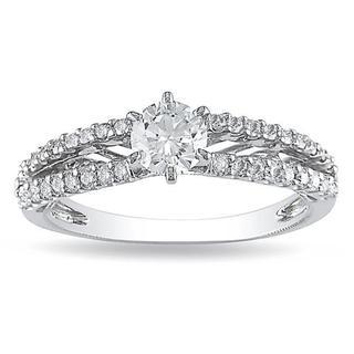 Miadora Signature Collection 14k White Gold 4/5ct TDW Diamond Ring (G-H, I1-I2)