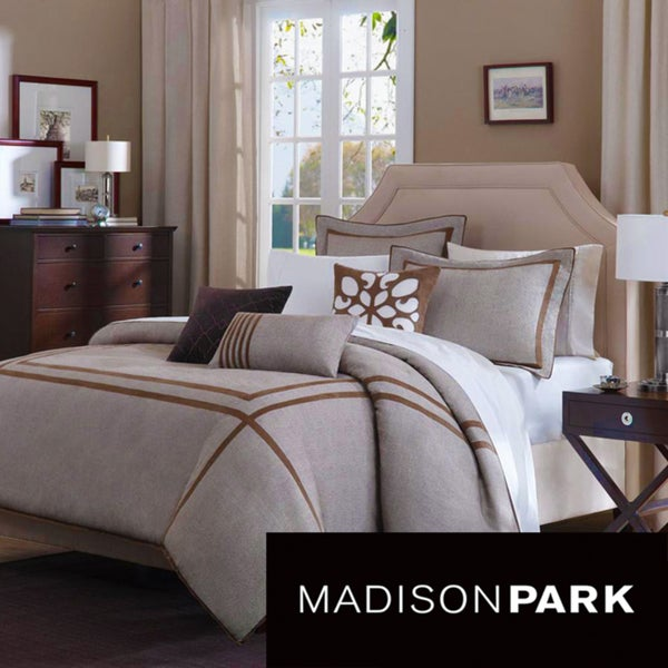 Madison Park Easton 6-piece Duvet Cover Set
