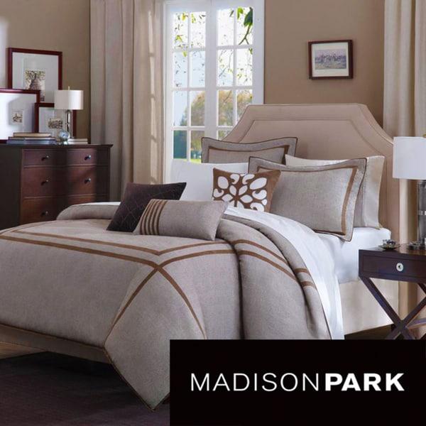 Madison Park Easton 6-piece Duvet Cover Set