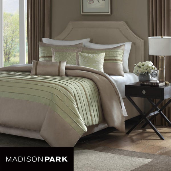 Madison Park Hayes 6 Piece King Size Duvet Cover Set