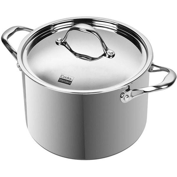Cooks Standard 8-quart Multi-ply Clad Stainless Steel Stockpot