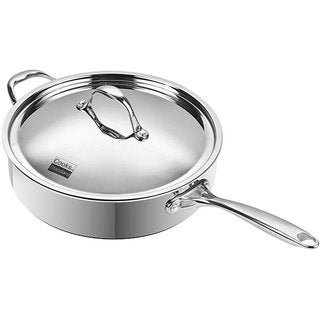 Cooks Standard 5-quart Multi-ply Clad Stainless Steel Saute Pan