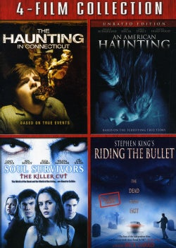 Haunting In Connecticut/American Haunting/Soul Survivors/Riding The Bullet (DVD)