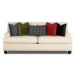 Hero Fabric Solo Natural Royal Queen Sleeper Sofa - Thumbnail 1
