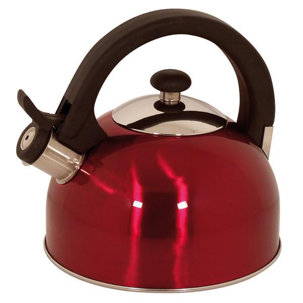 Magefesa Sabal Red Stainless Steel 2.1-quart Tea Kettle