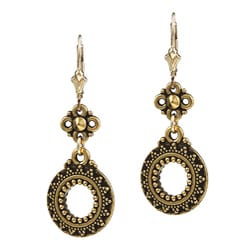 Charming Life 14K Goldfill Sun Circle Earrings