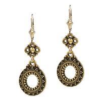 Lola's Jewelry Goldfill Sun Circle Earrings