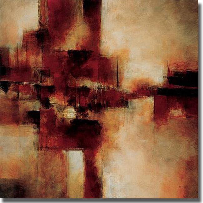 Cape Edwin 'Surface for Success' Canvas Art - Brown