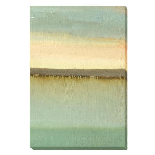 Caroline Gold 'Dusk' Canvas Art