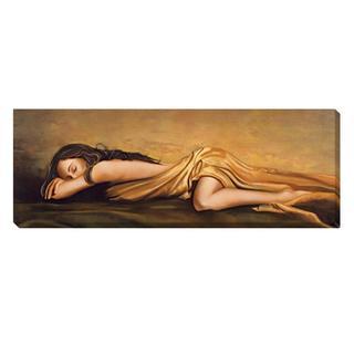 Ron Di Scenza 'Resting' Canvas Art