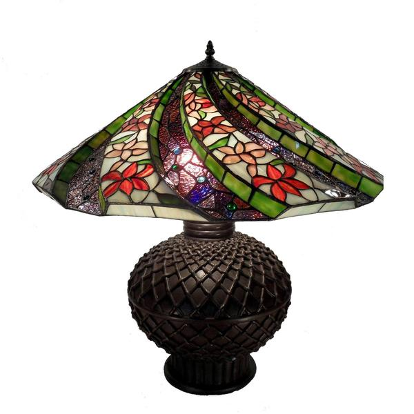 Tiffany Style 3D Twisted Table Lamp