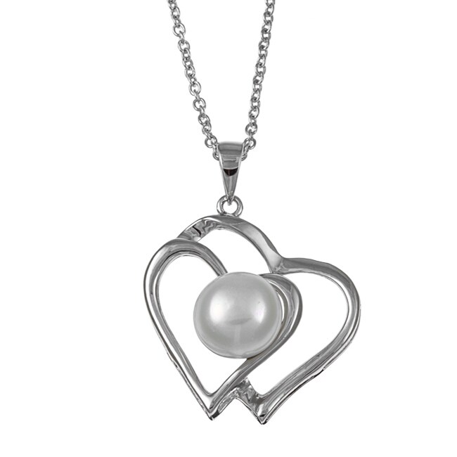 Kabella Sterling Silver Freshwater Pearl Necklace (10-11 mm)