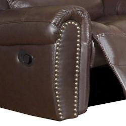 Chelsea Espresso Leather Reclining Sofa, Loveseat and Reclining Chair