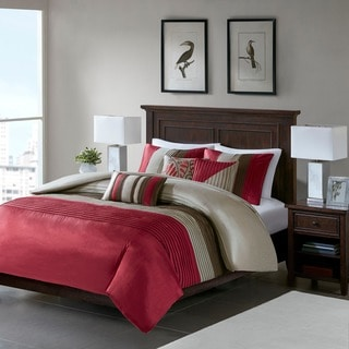 Madison Park Salem 6-piece Duvet Cover Set