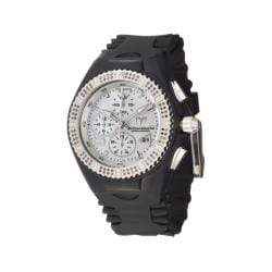TechnoMarine Women's 'Cruise Original' Black Silicon Diamond Watch
