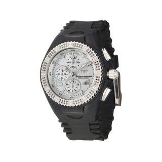 TechnoMarine Women's 'Cruise Original' Black Silicon Diamond Watch|https://ak1.ostkcdn.com/images/products/5494389/P13278982.jpg?impolicy=medium