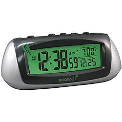 Equity by La Crosse 65903 Solar LCD Alarm Clock