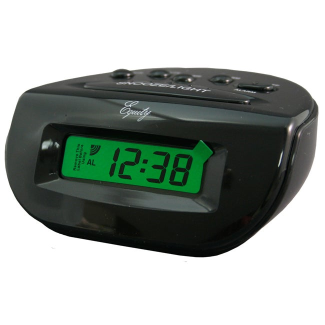 Equity by La Crosse LCD 31003 Digital Alarm Clock