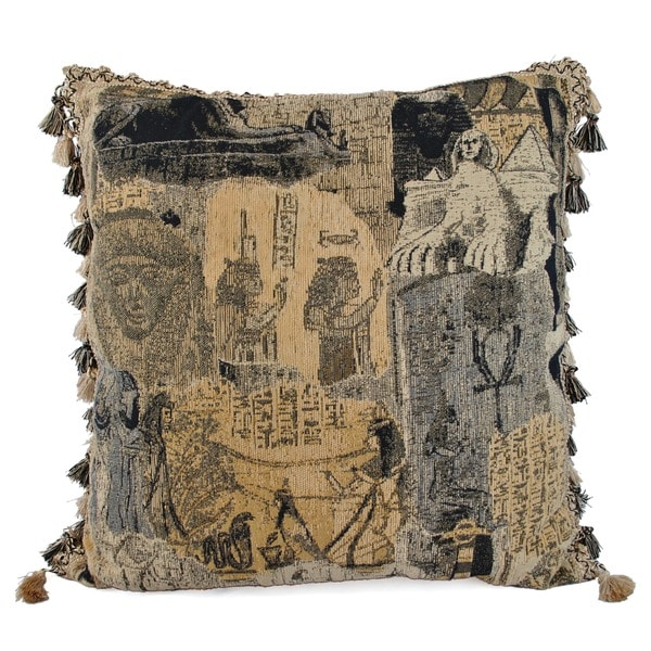 Pharaoh's Kingdom Euro Pillow