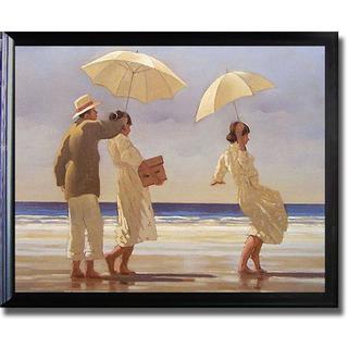 Jack Vettriano 'The Picnic Party' Framed Canvas Art