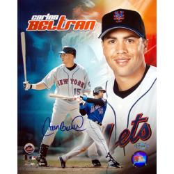 Steiner Sports Carlos Beltran Autographed Photo Collage