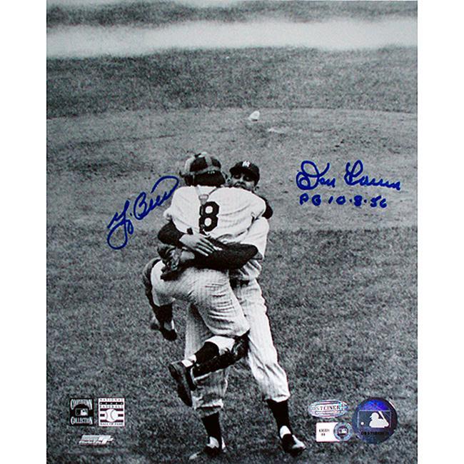 Steiner Sports Yogi Berra and Don Larsen Autographed Photo