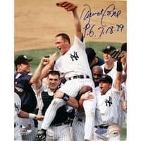 Steiner Sports David Cone Autographed Photo