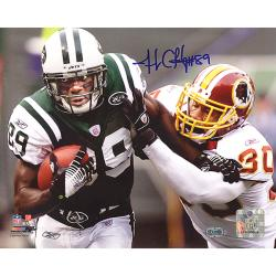 New York Jets Jerricho Cotchery Autographed Photo