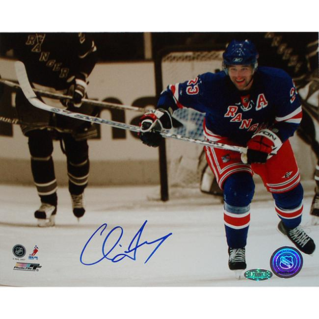 Steiner Sports New York Ranger Chris Drury Autographed Photo