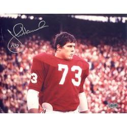 Alabama Crimson Tide John Hannah Autographed Photo - Thumbnail 0