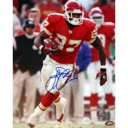 Kansas City Chiefs Larry Johnson Autographed Photo