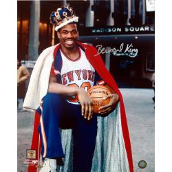 Steiner Sports Bernard King Autographed Vertical Photo