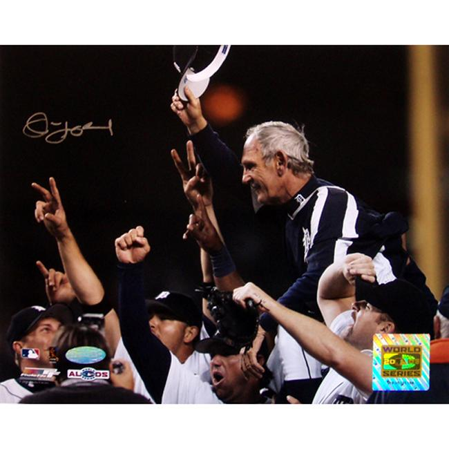 Steiner Sports Detroit Tigers Jim Leyland Autographed Photo