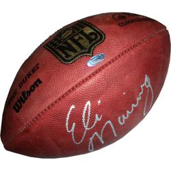 Steiner Sports Eli Manning Autographed NFL 'Duke' Football