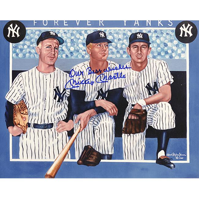Steiner Sports Mickey Mantle Autographed Photo