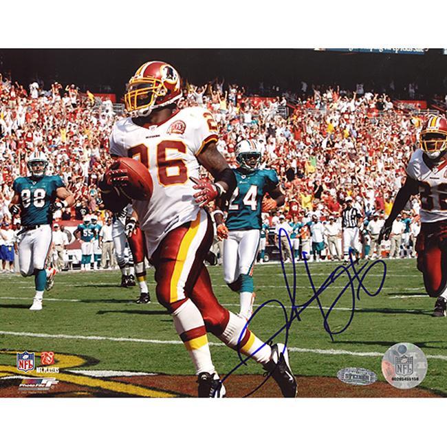 "Washington Redskins Clinton Portis 8"" x 10"" Autographed Photo"