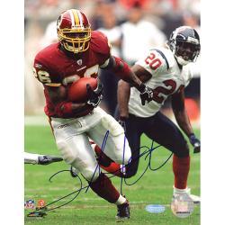 Washington Redskins Clinton Portis Autographed Photo - Thumbnail 0