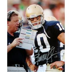 Steiner Sports Hand-Signed Brady Quinn Autographed Photo