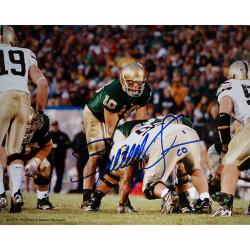Steiner Sports Brady Quinn Autographed Photo - Thumbnail 0