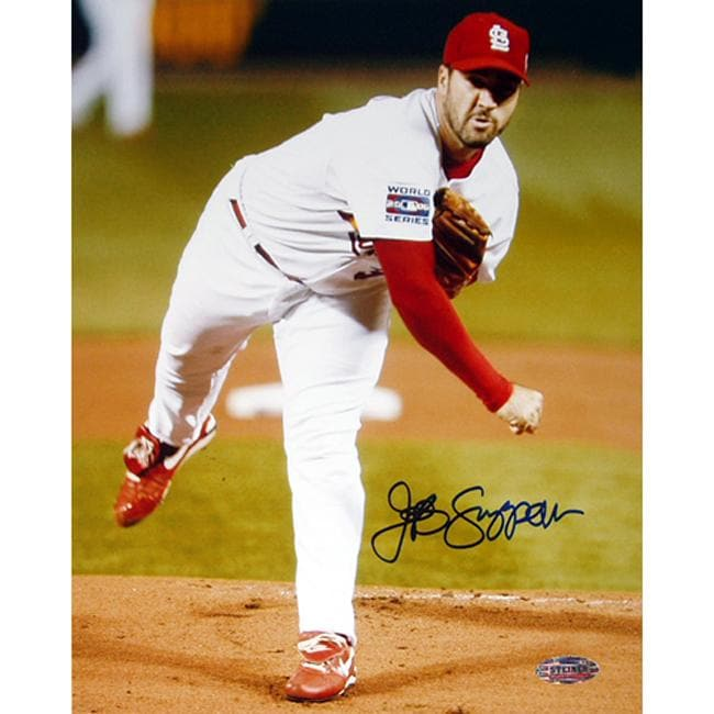 St. Louis Cardinals Jeff Suppan Autographed Photo - Thumbnail 0