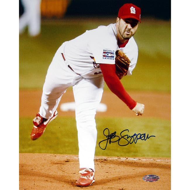 St. Louis Cardinals Jeff Suppan Autographed Photo