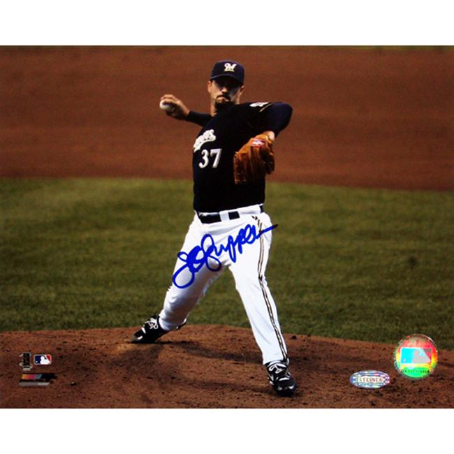 Authentic Milwaukee Brewers Jeff Suppan Autographed Photo - Thumbnail 0